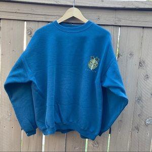 Vintage Hanes Heavyweight San Diego Surf Sweater
